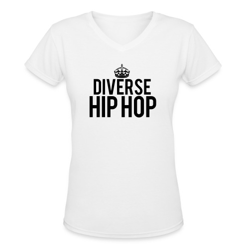 dhhcrown - Women's V-Neck T-Shirt