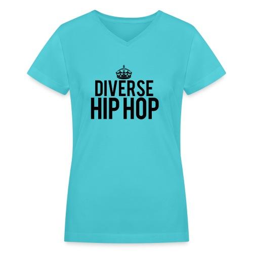 dhhcrown - Women's V-Neck T-Shirt