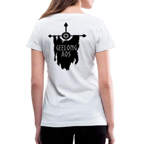 Geelong AOS - ORDER - Women's V-Neck T-Shirt