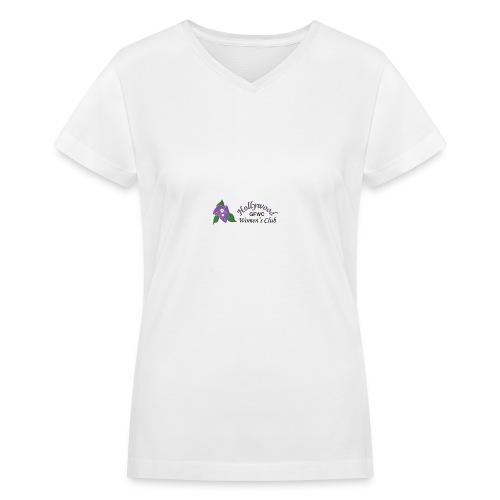 HWC Logo Full - Women's V-Neck T-Shirt