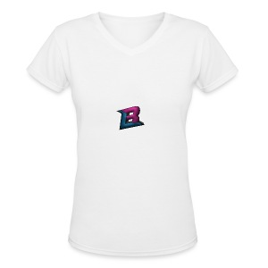 BlaZe Kranteon Logo - Women's V-Neck T-Shirt