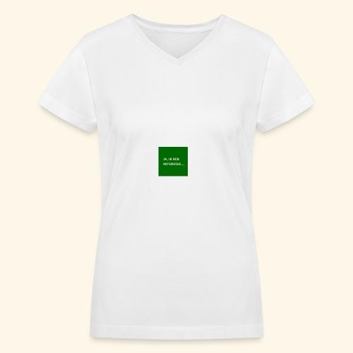interesse - Women's V-Neck T-Shirt