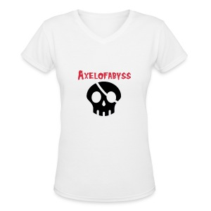 skull pirate 2 - Women's V-Neck T-Shirt