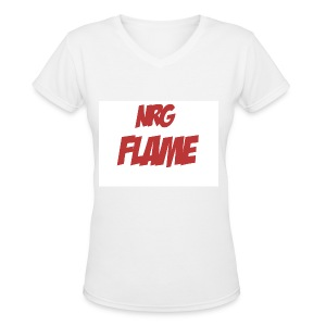 Flame For KIds - Women's V-Neck T-Shirt