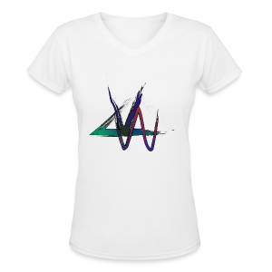 Variance Just the logo - Women's V-Neck T-Shirt