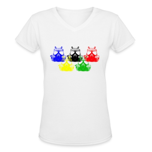 Apocalyptic Games - Women's V-Neck T-Shirt