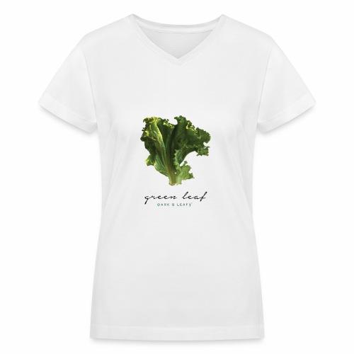 greenleaf - Women's V-Neck T-Shirt