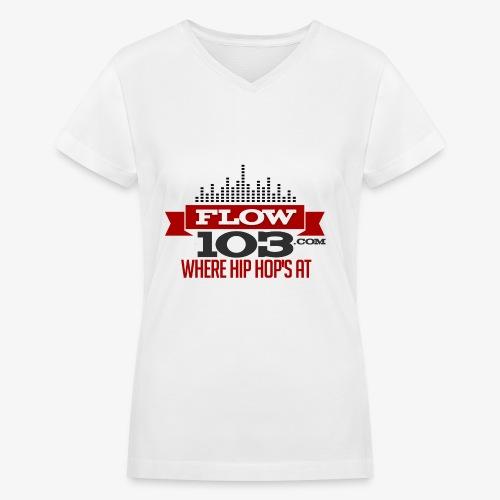 FLOW 103 - Women's V-Neck T-Shirt