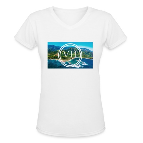 Voyage Hawaii - Women's V-Neck T-Shirt