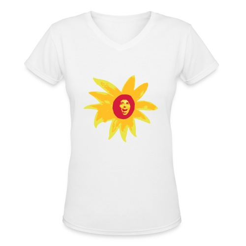 drawing3 - Women's V-Neck T-Shirt