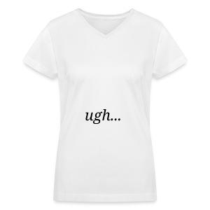 Monday Morning Merch - Women's V-Neck T-Shirt