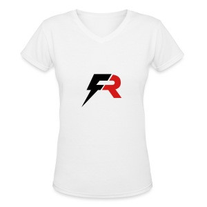 Full Ride Training Gear - Women's V-Neck T-Shirt