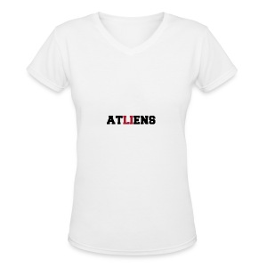 ATLIENS - Women's V-Neck T-Shirt