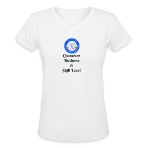 SB Seal Design - Women's V-Neck T-Shirt