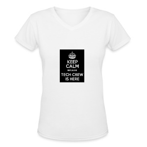 Tech Crew - Women's V-Neck T-Shirt