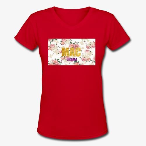 drama - Women's V-Neck T-Shirt