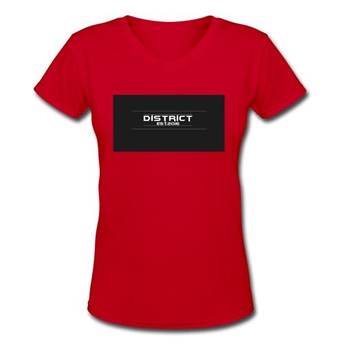 District apparel - Women's V-Neck T-Shirt