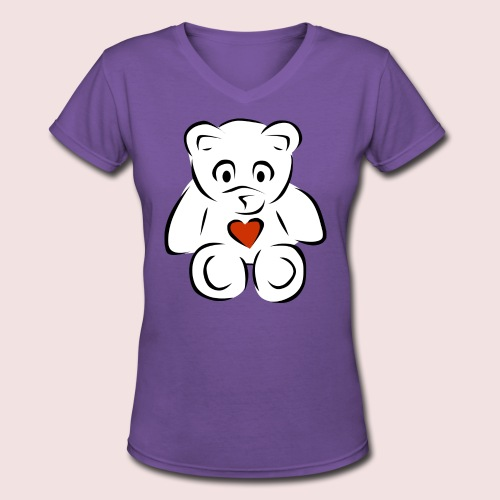Sweethear - Women's V-Neck T-Shirt