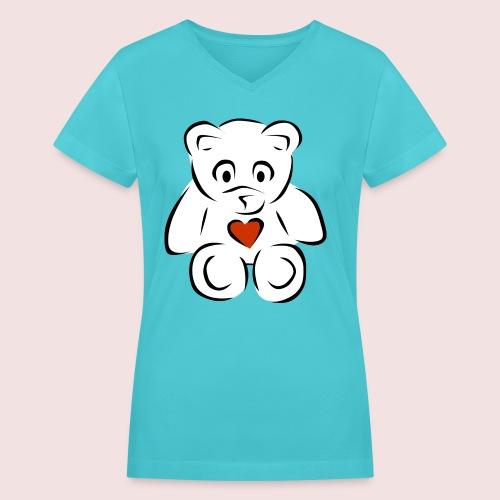 Sweethear - Women's V-Neck T-Shirt