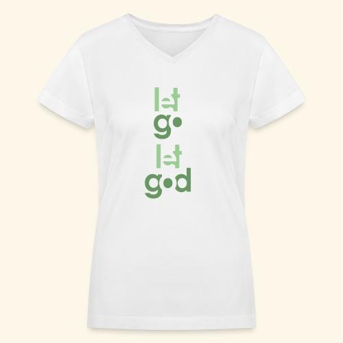LGLG #9 - Women's V-Neck T-Shirt