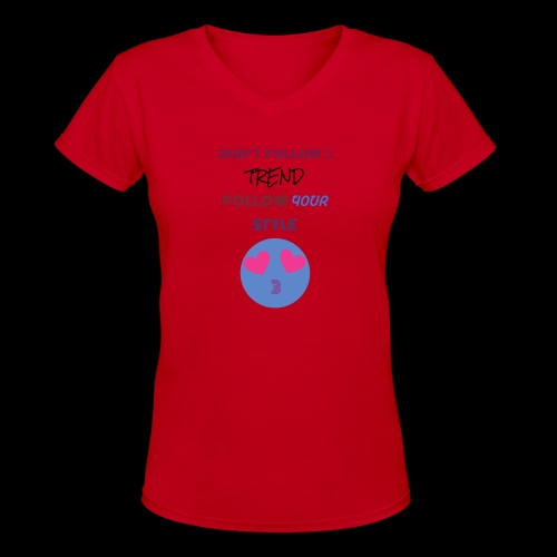 BE YOURSELF - Women's V-Neck T-Shirt