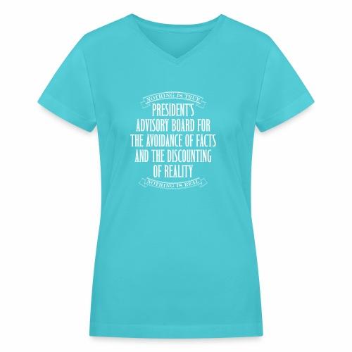 Nothing is True - Women's V-Neck T-Shirt
