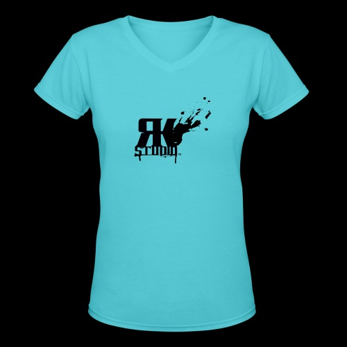 RKStudio Black Version - Women's V-Neck T-Shirt