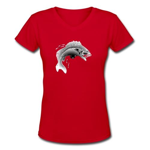 fishermen T-shirt - Women's V-Neck T-Shirt