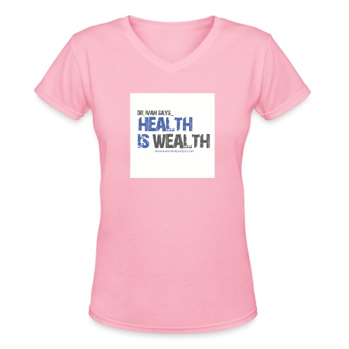 Higher Res jpg - Women's V-Neck T-Shirt