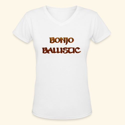 BonjoBallistic - Women's V-Neck T-Shirt
