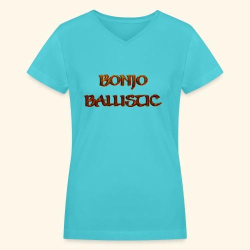 BonjoBallistic - Women's V-Neck T-Shirt