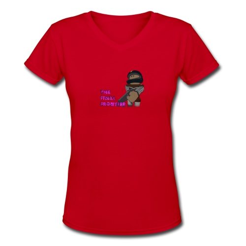 The Final Frontier Sports Items - Women's V-Neck T-Shirt