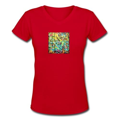 13686958_722663864538486_1595824787_n - Women's V-Neck T-Shirt