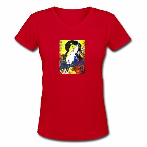 LIMITLESS - Women's V-Neck T-Shirt