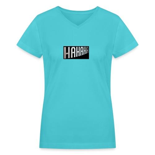 mecrh - Women's V-Neck T-Shirt