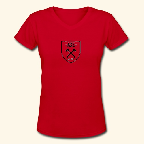 The AXE - Women's V-Neck T-Shirt