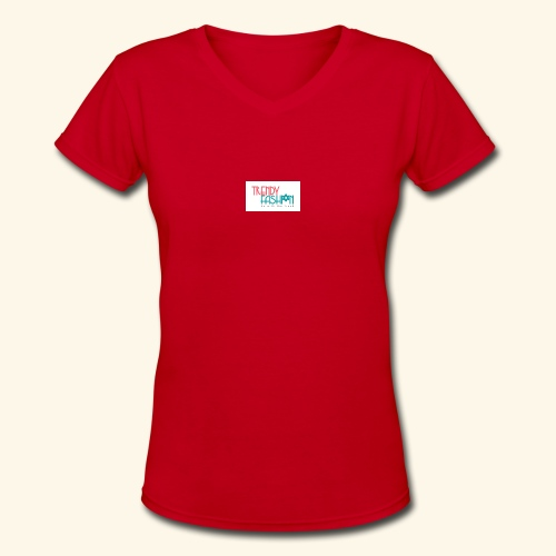 Trendy Fashions Go with The Trend @ Trendyz Shop - Women's V-Neck T-Shirt