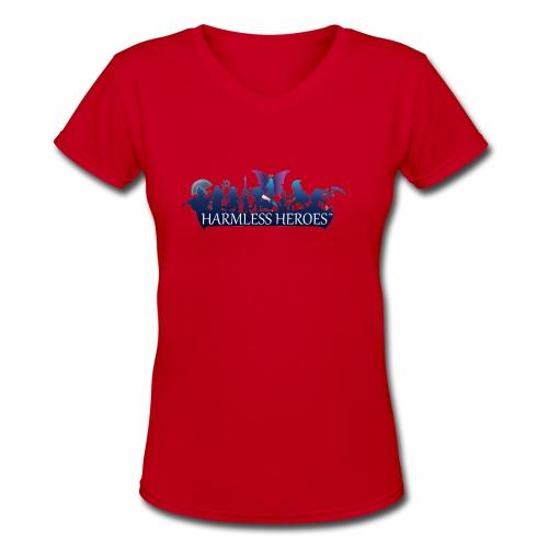 Offline - JungleGirl - Women's V-Neck T-Shirt