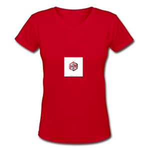 My Cool Stuff - Women's V-Neck T-Shirt