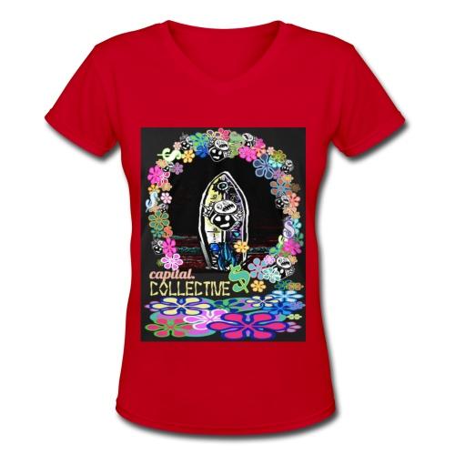 Al Sur - Women's V-Neck T-Shirt