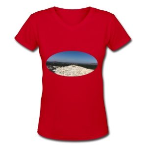 Rock - Women's V-Neck T-Shirt