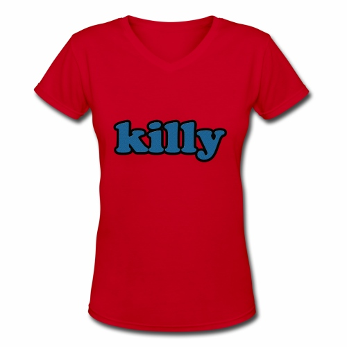 logo.. - Women's V-Neck T-Shirt