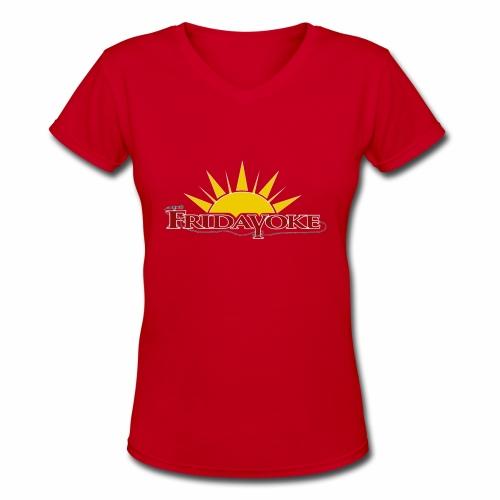 Fridayoke - Women's V-Neck T-Shirt