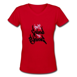 GTS - Women's V-Neck T-Shirt