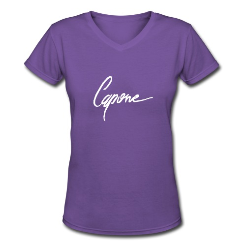 Capore final2 - Women's V-Neck T-Shirt