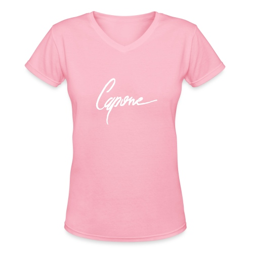 Capore final2 - Women's V-Neck T-Shirt