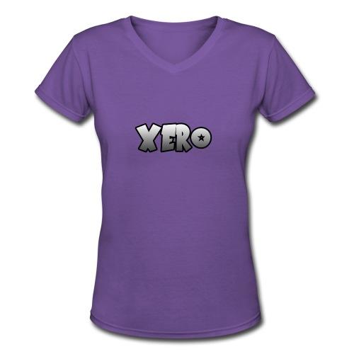 Xero (No Character) - Women's V-Neck T-Shirt