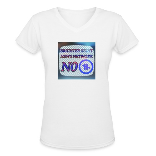 NO PAUSE - Women's V-Neck T-Shirt