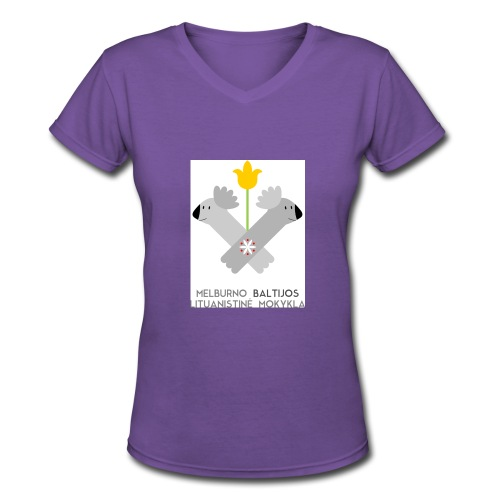 logo for tshirts 3copy - Women's V-Neck T-Shirt