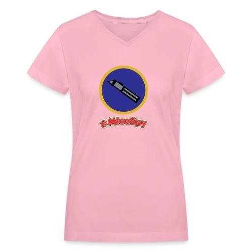 Star Wars Launch Bay Explorer Badge - Women's V-Neck T-Shirt